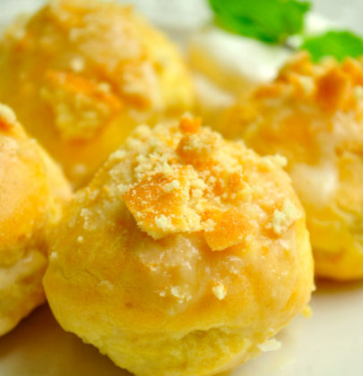 Banana Pudding Cream Puffs