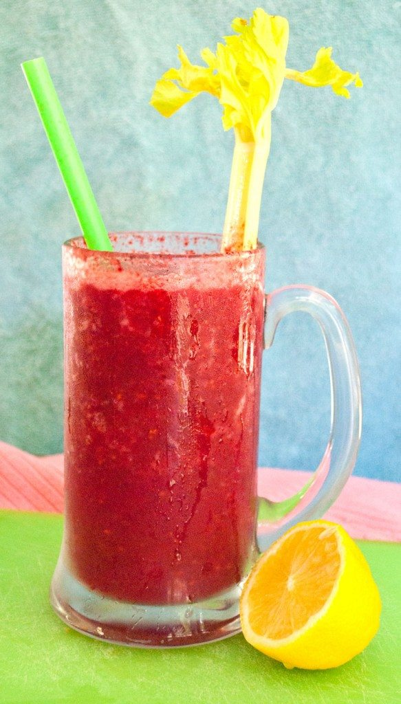 Apple Berry Detox Smoothie front