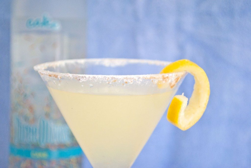 Lemon Square Martini