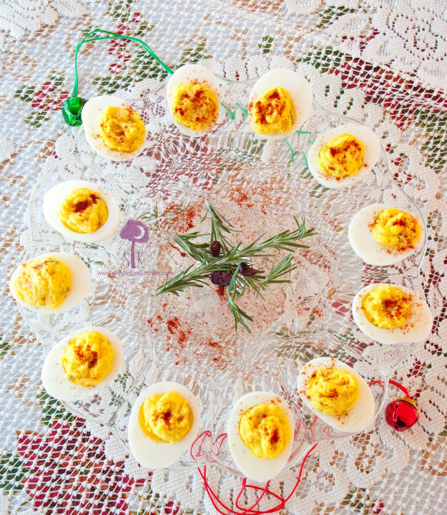 Mayo Free and Guiltless Deviled Eggs