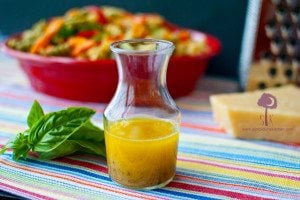 Meyer Lemon & Sweet Basil Dressing