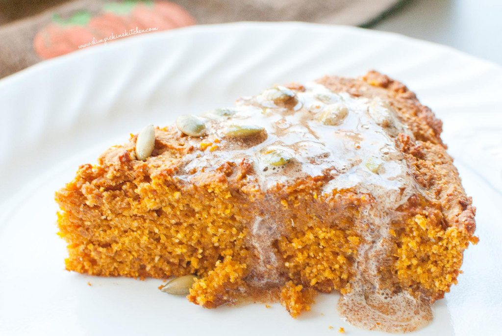 Pumpkin Cornbread w/ Whipped Gingerbread Butter * Slim Pickin's Kitchen