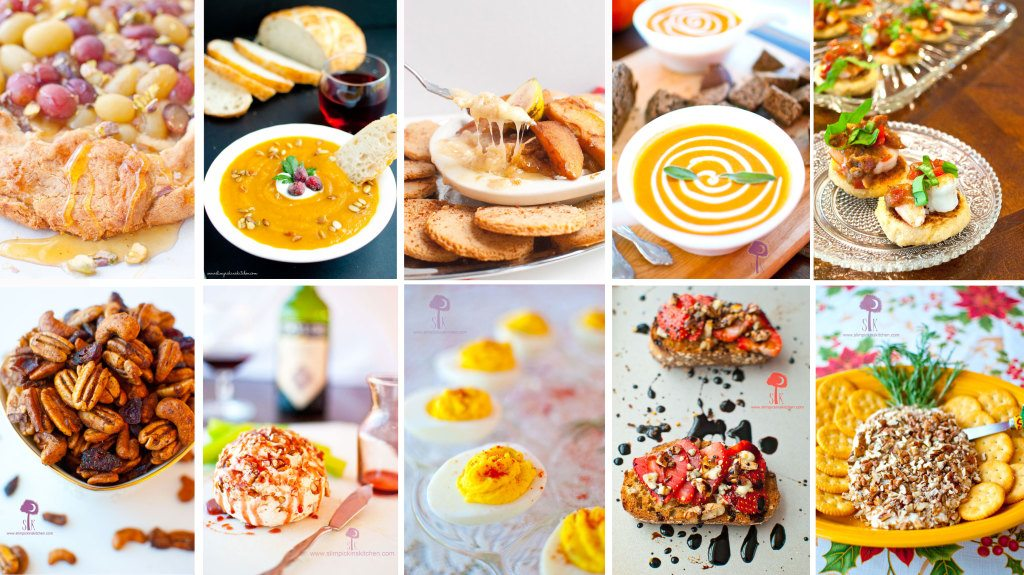 Healthy Thanksgiving Appetizer Recipes