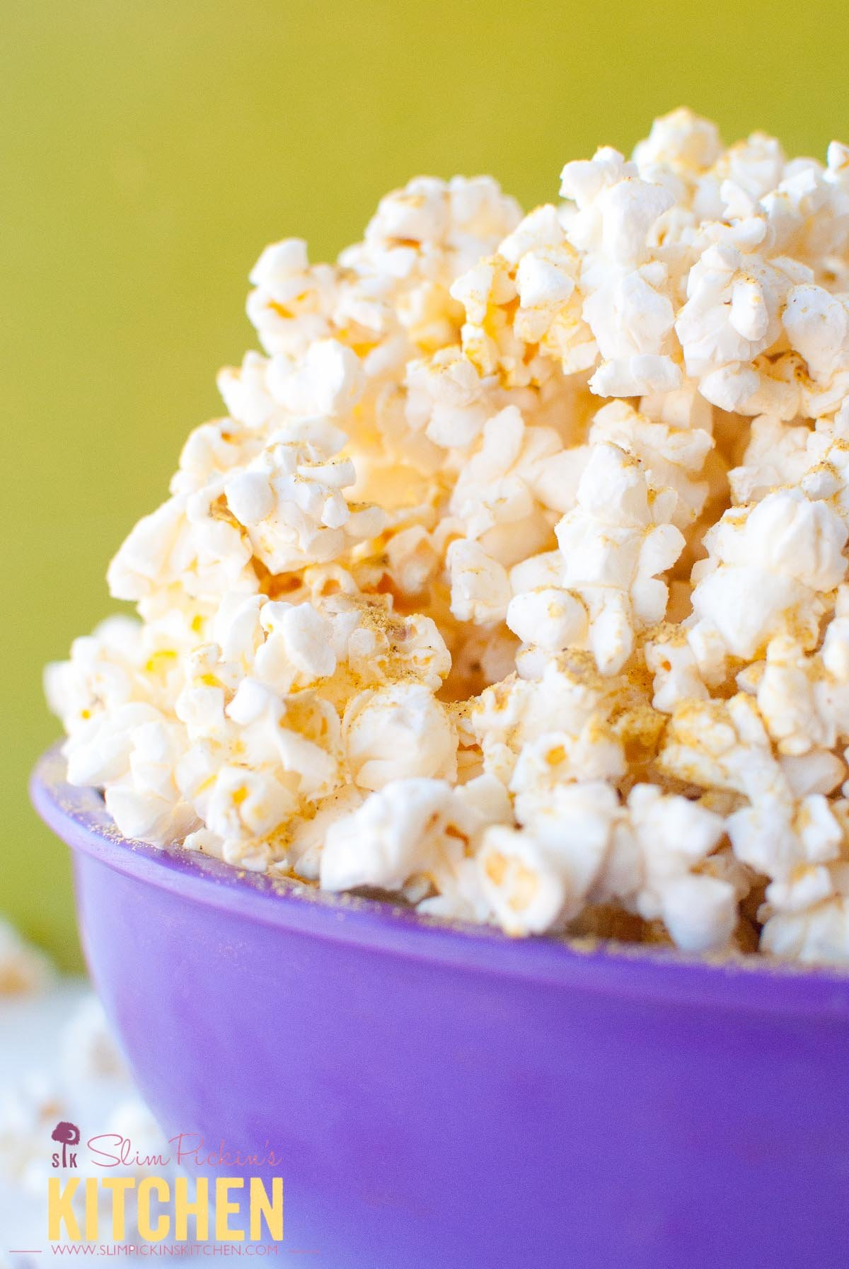 Butter-Free Microwave Popcorn w/ Noocho Cheese