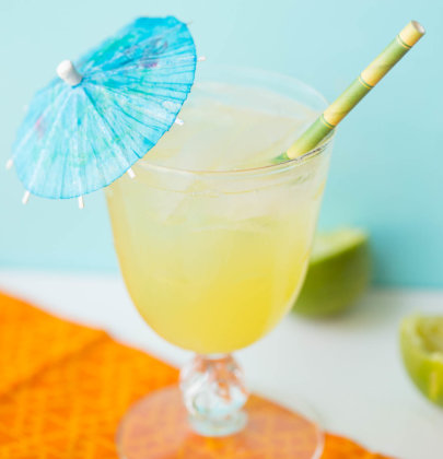 Pineapple Passion Fruit Spritzer