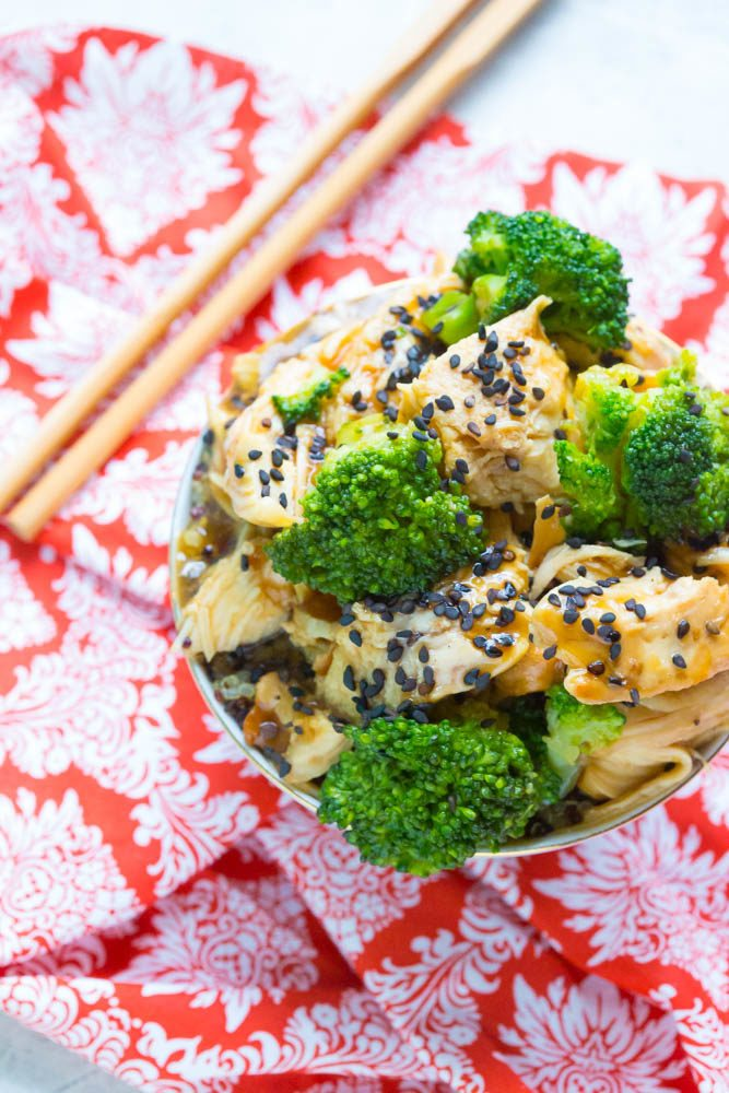 Honey Garlic Chicken Teriyaki | Easy Crock Pot Chicken Teriyaki Recipe