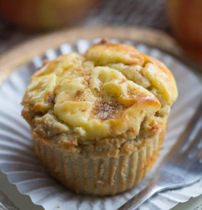 Apple Cheese Danish Muffins | Gluten-Free Muffins