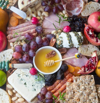 Christmas Charcuterie Tray