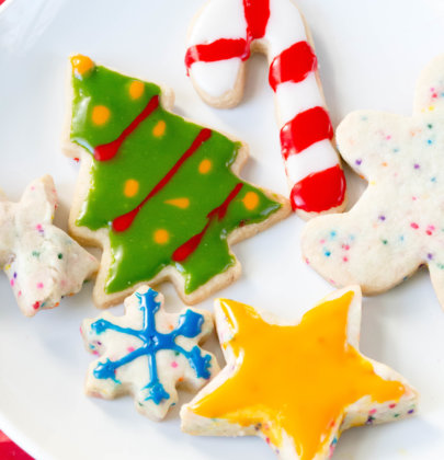 An Easy Cut-Out Sugar Cookie Recipe for Christmas!