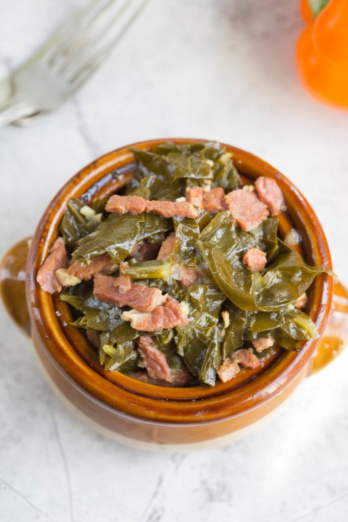 Instant Pot Collard Greens | Leftover Holiday Ham