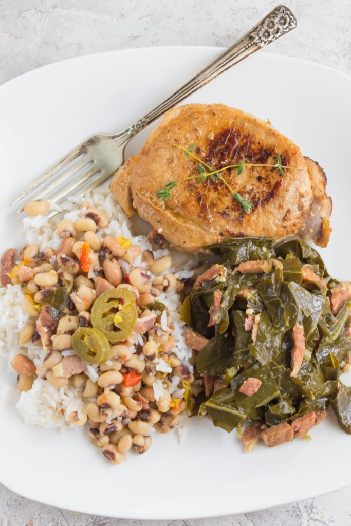 Hoppin John and Collard Greens Recipe