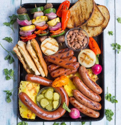 25 Minute Summer Grill Party Platter & Make Summer Happen Sweepstakes!