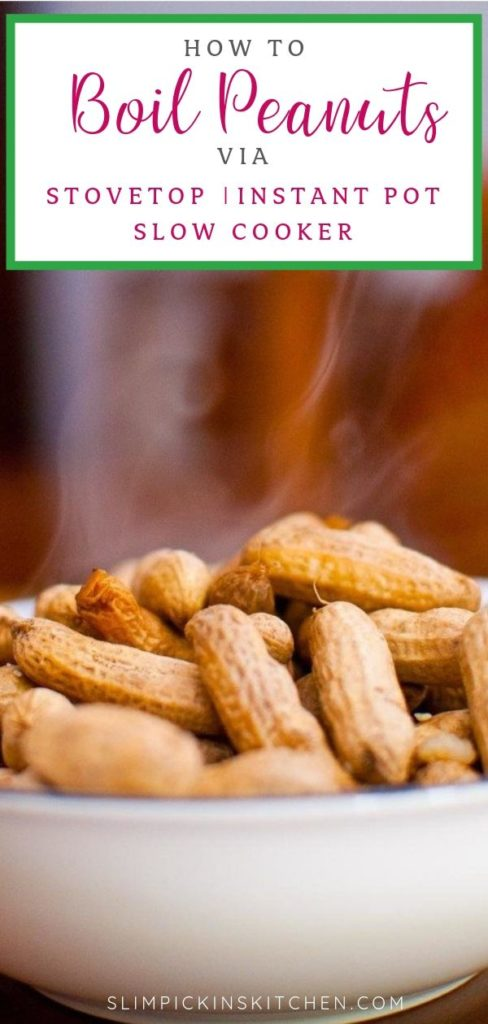 How to Boil Peanuts Pinterest Image
